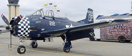 North American T-28A Trojan N212DP Check Mate, May 14, 2011